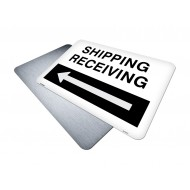Shipping and Receiving with arrow