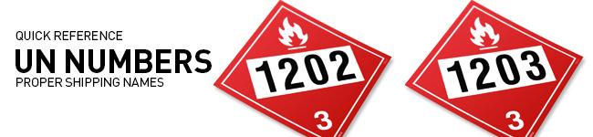 UN Numbers 1201-1300