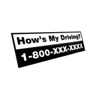 How's My Driving  - Label