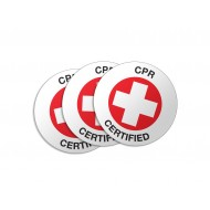 CPR Certified Stickers - 50/Pack