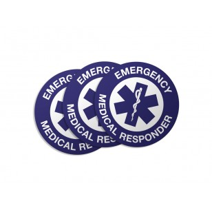 Emergency Medical Responder Stickers - 50/Pack