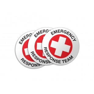 Emergency Response Team Stickers - 50/Pack