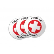 First Aid Trained - 50/Pack