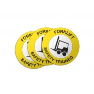Forklift Safety Trained - 50/Pack