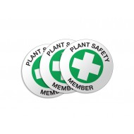 Plant Safety Member - 50/Pack
