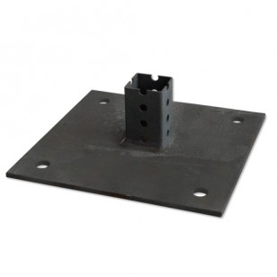 Telespar Square Baseplate for Concrete