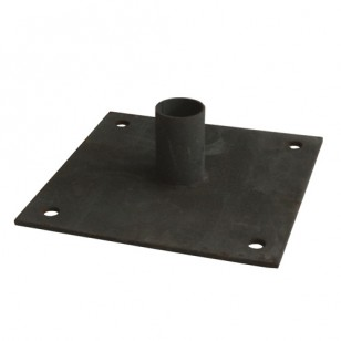 Round Post Baseplate for Concrete