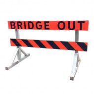 Bridge Out Barricade (Alberta)