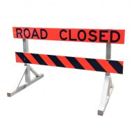 Road Closed Barricade (Alberta)
