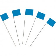 Marking Flags, Blue 100/PK