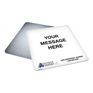 Message, Logo & Emergency Phone (30x30)