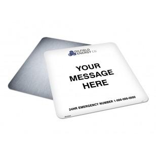 Message, Logo & Emergency Phone (30x30)