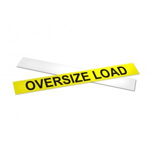 Rigid Oversize Load Sign
