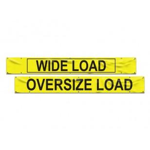 Vinyl Wide Load/Oversize Banner