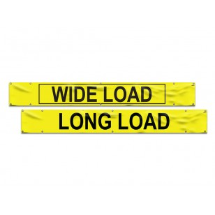 Vinyl Wide Load/Long Load Banner