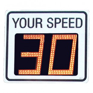 TC-400 Radar Speed Sign