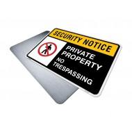 Private Property, No Trespassing