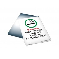 These Premises Allow For Smoking At Certain Times