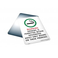 Smoking Is Permitted Within Designated Adult Only Rooms On These Premises