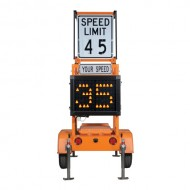 Silent Advisor Radar Speed Trailers - 1000