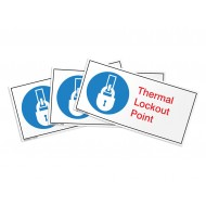 Thermal Lockout Point Label