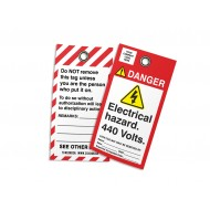 Lockout - Electrical Hazard 440 Volts (w/Logo)