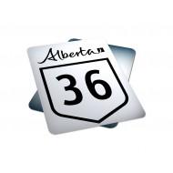 Alberta Route Marker (1-216)