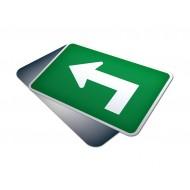 Advance Left Sharp Turn Arrow