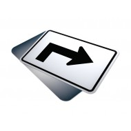 Advance Right Sharp Turn Arrow