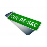 Cul-De-Sac Sign
