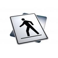 Right Side Pedestrian Crosswalk