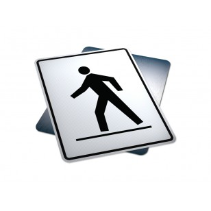 Right Side Pedestrian Crosswalk
