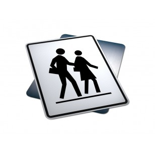 Left Side School Crosswalk