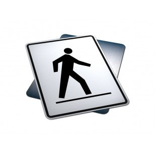 Left Side Pedestrian Crosswalk