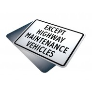 Except Highway Maintenance Vehicles