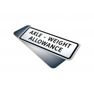 Axle - Weight Allowance