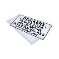 Truckers Please Avoid Use of Engine Retarder Brakes