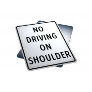 No Driving On Shoulder