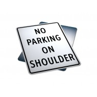 No Parking On Shoulder