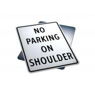 No Parking On Shoulder