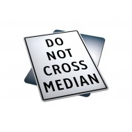 Do Not Cross Median