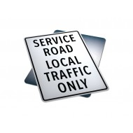 Service Road Local Traffic Only