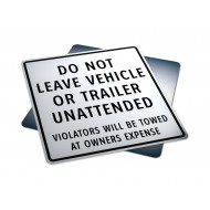 Do Not Leave Vehicle Or Trailer Unattended
