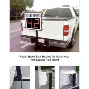 Radar-on-the-GO Hitch Mounted