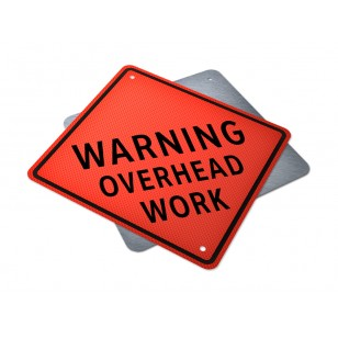 WARNING - Overhead Work