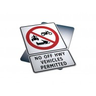 No Off Hwy Vehicles Permitted