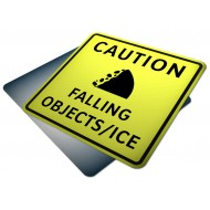 Caution Falling Ice/Objects (Fluorescent)