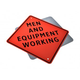 Men and Equipment Working