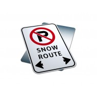 No Parking - Snow Route
