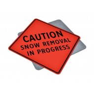 Caution - Snow Removal In Progress